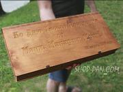 Набори шампурів с гравіюванням гарний подарок для кожного чоловіка.